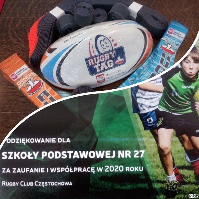 Podziękowanie od Klubu RugbyTag w Częstochowie